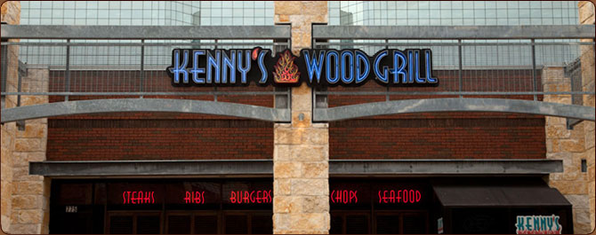Kennys Wood Fired Grill Building
