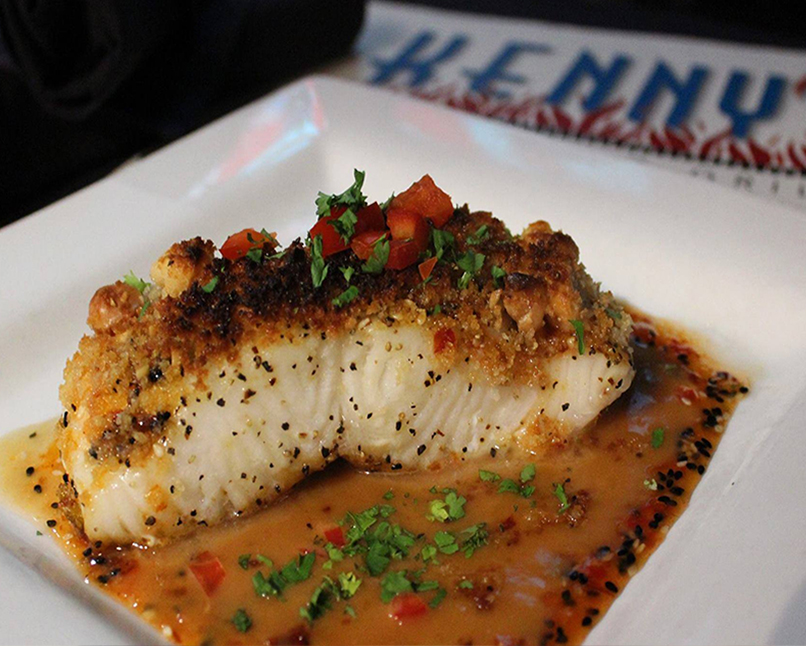 Best Chilean Sea bass in Dallas, Tx | Kenny's Wood Fired Grill